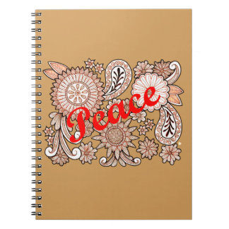 Peace 3 notebooks