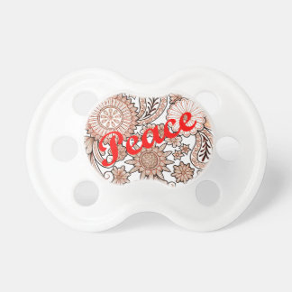 Peace 3 pacifier