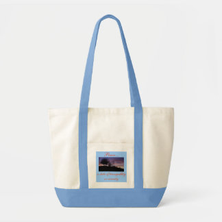 Peace..., a state of tranquillity...tote bag