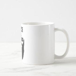 Peace Ale Beards Coffee Mug