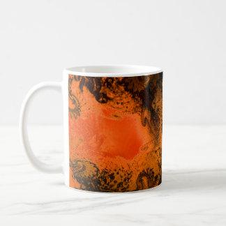 Peace Among the rigid (orange) Coffee Mug