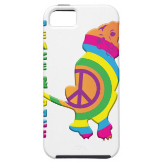 Peace And Dogs Funny Case For The iPhone 5