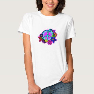 Peace and Flowers T-shirts