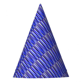 Peace and Harmony Striped Abstract Pattern Party Hat