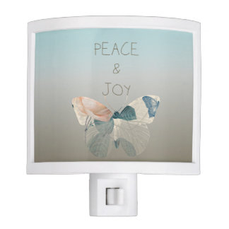 Peace and Joy Butterfly Night Lights