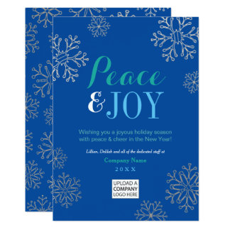 Peace and Joy | Corporate Holiday Cards