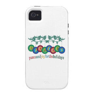 Peace And Joy iPhone 4 Cases