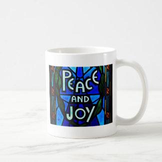 Peace And Joy Coffee Mugs