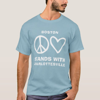 Peace and Love Charlottesville T-Shirt