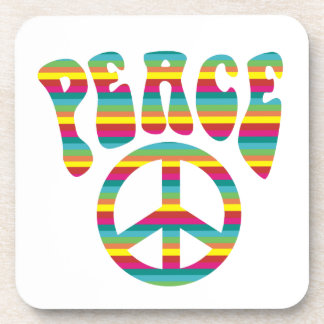 Peace and Love! Coaster