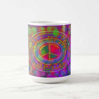 Peace and Love - Imagine Mug