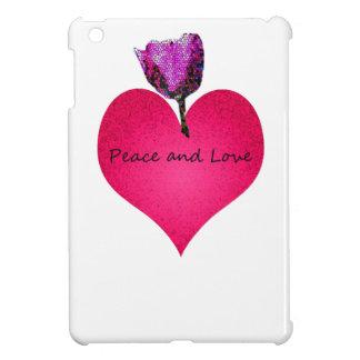 peace and love iPad mini covers