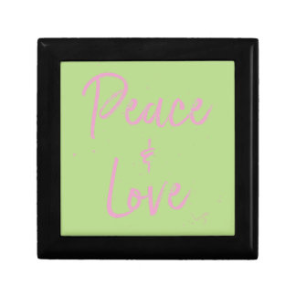 PEace-and-Love-Pink Gift Box