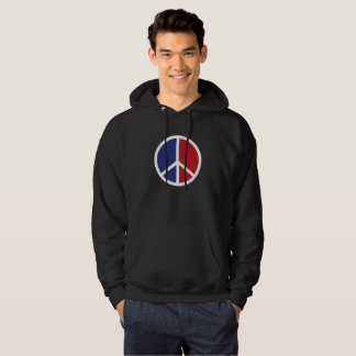Peace And Love Sign Hoodie