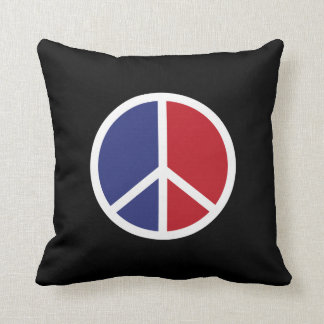 Peace And Love Sign Pillow
