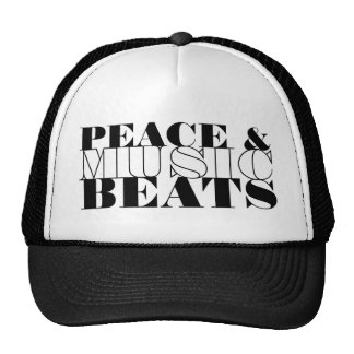 Peace and Music, Inspirational Trucker Hat