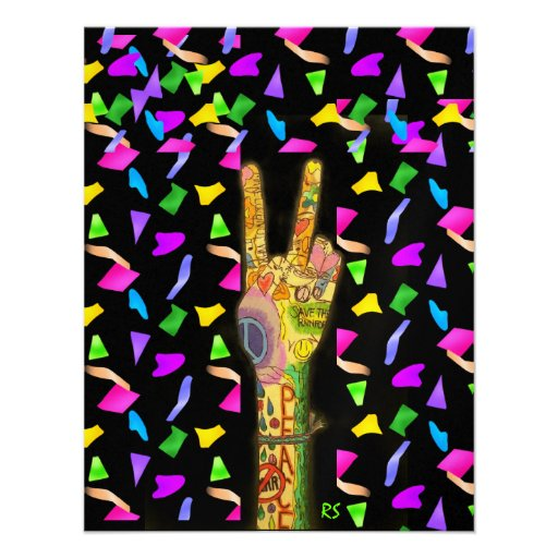 Peace and Party - SRF Custom Invite