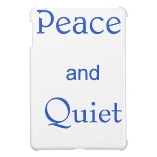 peace and quiet iPad mini case