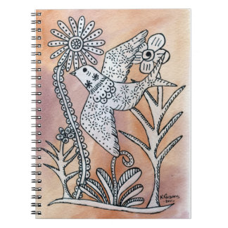 Peace and Serenity Spiral Notebook