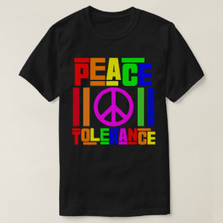 Peace and Tolerance T-Shirt
