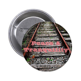 Peace and Tranquility 2 Inch Round Button