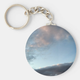 Peace and Tranquility Basic Round Button Keychain