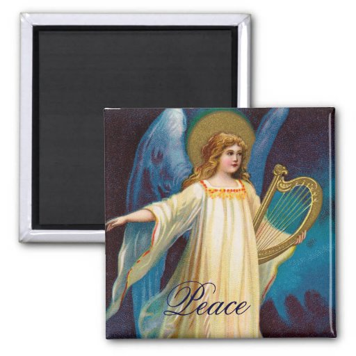 Peace Angel Magnet 4 of a set of 4