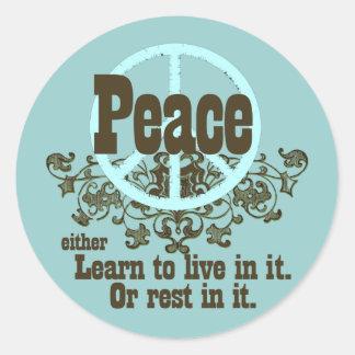 Peace Anti-war Stickers