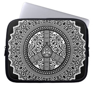 Peace Arabesque Electronics Bag