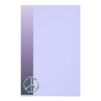 Peace Art Symbol Stationery