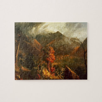 Peace at Sunset by Thomas Cole Jigsaw Puzzle