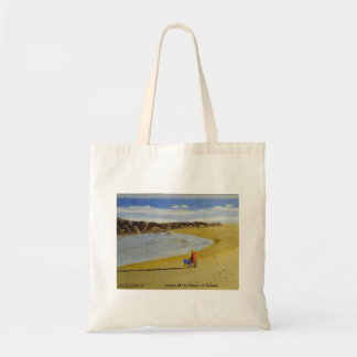 Peace at the Beach at Sunset Tote Bag