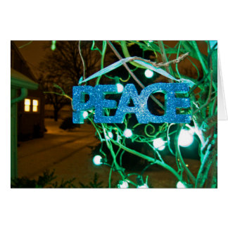Peace at the Cottage Card