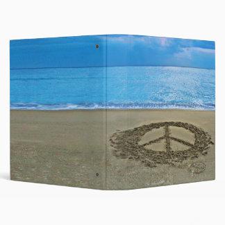 peace at the ocean binder