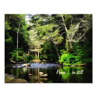 """""""Peace... be still"""" 11x14 Art Print"""