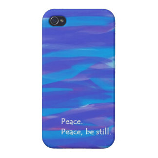 Peace Be Still iPhone 4/4S Case