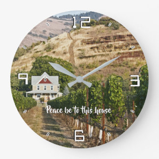 Peace be to this house 93 large clock