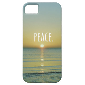 Peace Beach Word Art iPhone 5 Covers