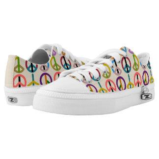 Peace Beat / Custom Zipz Low Top Shoes