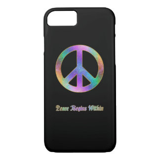 Peace Begins Within iPhone 7 Case