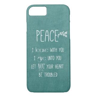 Peace Bible Verse iPhone 8/7 Case