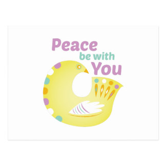 Peace Bird Postcard