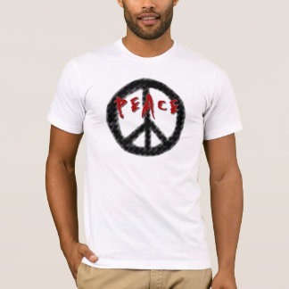 Peace Black and Red T-Shirt