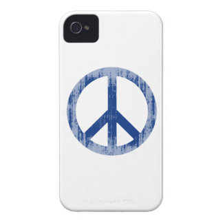 peace blue Faded.png iPhone 4 Case-Mate Cases