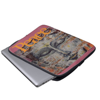 Peace Buddha Art Laptop Sleeve