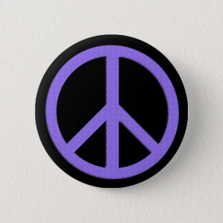 Peace Button (Purple)