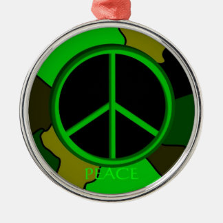 Peace Camo Ornament