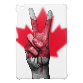 Peace Canada Flag Canadian Parliament Government iPad Mini Cases
