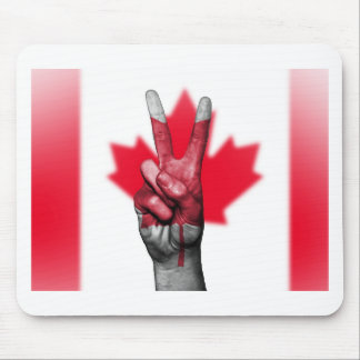 Peace Canada Flag Canadian Parliament Government Mouse Pad