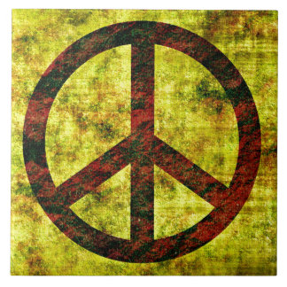 Peace Ceramic Tile